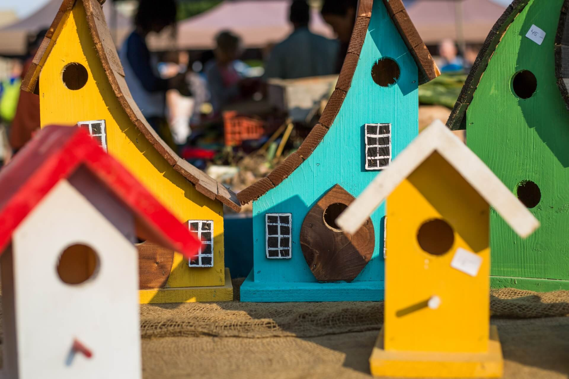 Bird Houses - Crafts